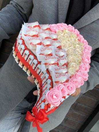 Подарок из конфет.Доставка подарков и цветов