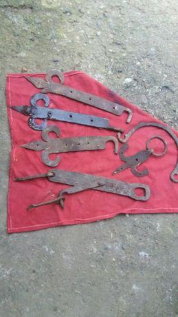 Резе от стара порта ковано желязо и ножица