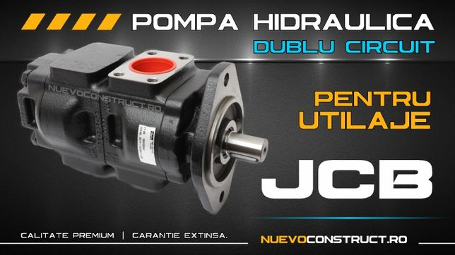 Pompa hidraulica pentru utilaje / buldoexcavatoare JCB 3CX