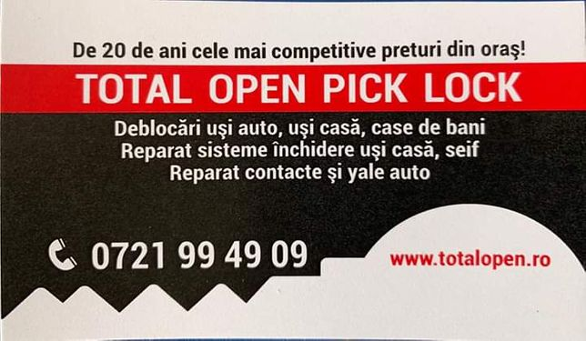 Deblocari Usi - Total Open