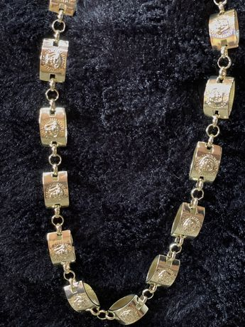 Lant Versace gros placat cu aur 14 K