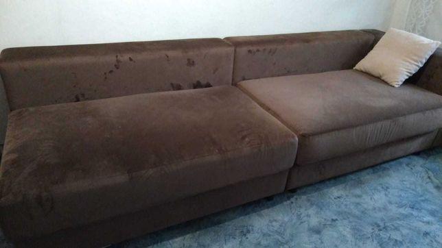 диван,  мягкая мебель, состоит из 5-ти модулей