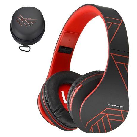 Bluetooth Слушалки PowerLocus P2 Over-Ear Сгъваеми стерео Слушалки