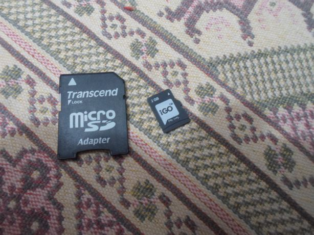 card microsd gps igo