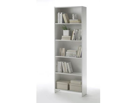 Бяла етажерка/Етажерка библиотека-60х24х175 см.