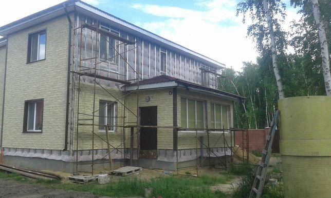 Фасадные работы и внутренняя отделка