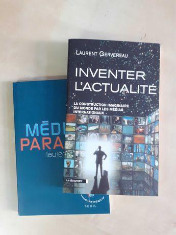L. Gervereau, Inventer l'actualite + L. Joffrin, Média-paranoïa (noi)