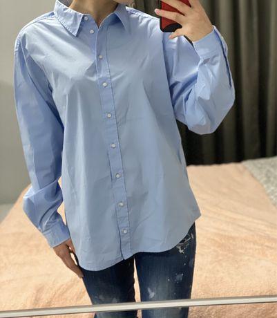 Дамска синя риза Hugo Boss