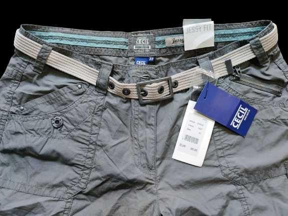 Оригинален панталон CECIL 33/30 цвят каки
