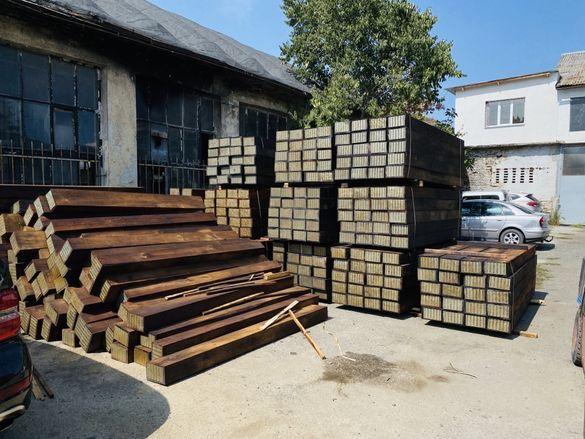 Дървени траверси , Стоманобетонни траверси СТ4