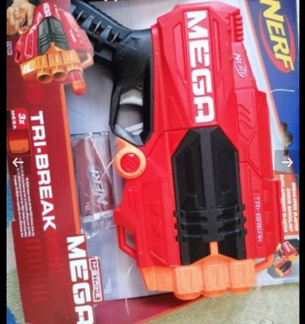 Детски пистолет Nerf mega