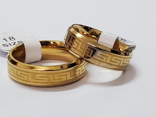GA 5, verighete placate aur 14k, noi, sti Versace, reducere 30%
