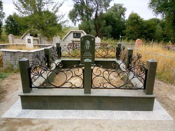 Изготовление и строительство мемориальных комплексов на могилу мазаров