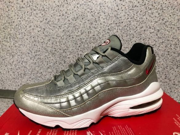 ОРИГИНАЛНИ *** Nike Air Max 95 QS GS / 'Silver Bullet' metallic silver