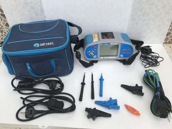 Уред за пълен тест на електрически инсталации Metrel MI 3105 перфектен