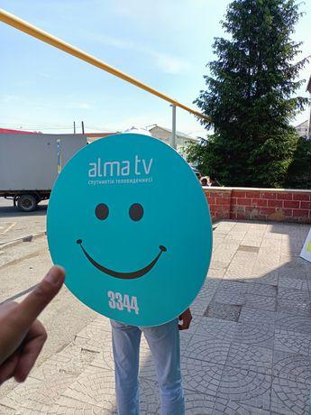 Спутниковое телевидение Алма ТВ