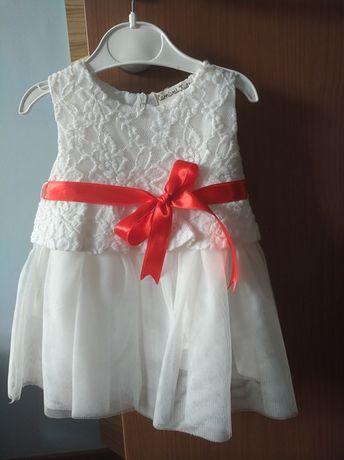 Бяла рокля Carnival Kids /р-р 6 месеца/