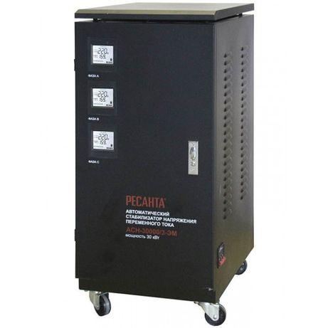Стабилизатор напряжения 3-х фазный АСН-30000/3-ЭМ Ресанта