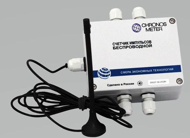 Радиомодем GSM для дистанционной передачи показаний с импульсных счетч