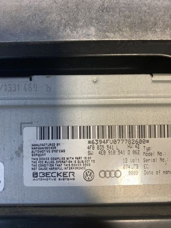 Modul Audio Audi A6 4F0 035 541 L
