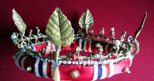 Корона за принц, херцог, принцеса, херцогиня или друг приказен герой