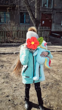 Детская куртка весна осень девочка