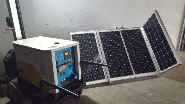 Generator hybrid invertor solar kit solar turn de lumina Studer