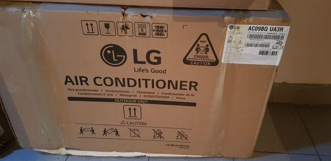 Продам новый в упаковке наружный блок LG инверторный 9