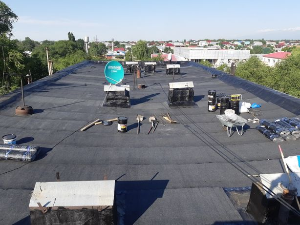 Ремонт крыши, мягкой кровли и гидроизоляции с гарантией