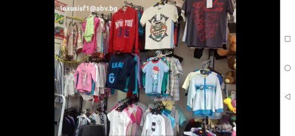Детски дрехи от фалирал магазин(на едро)