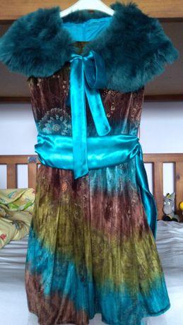 Детска елегантна рокля пролет/есен