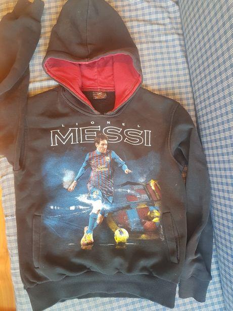 Продам свитер худи (толстовку) Месси подростковую рост 150 см