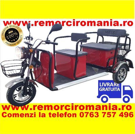 Triciclu electric de persoane, fara permis livrare si RAR gratuit