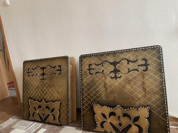 Раскладные столы с казахскими узорами