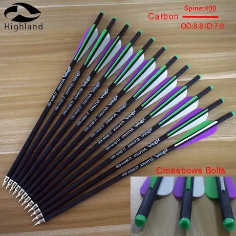 Sageti carbon arbaleta