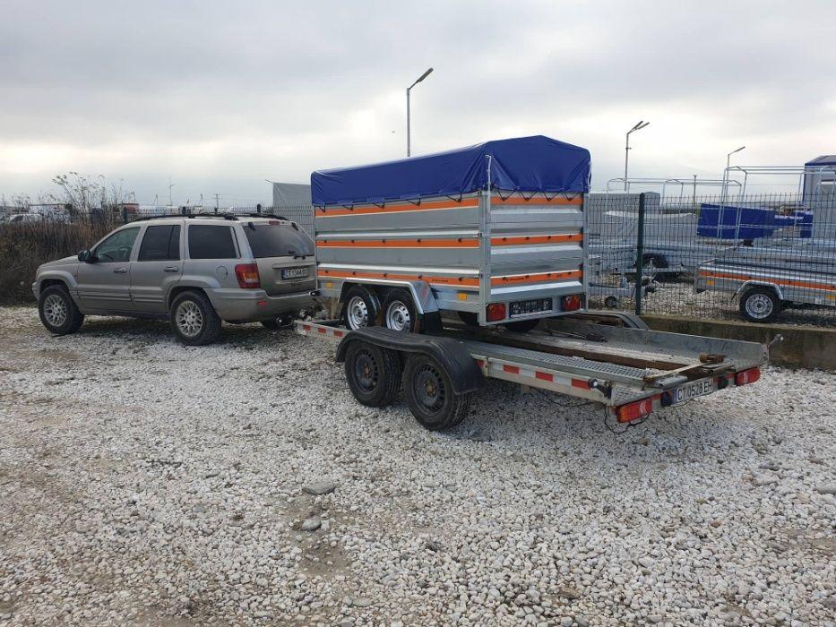 Отдавам под наем Платформа за Автомобил и Ремарке до 750 кг