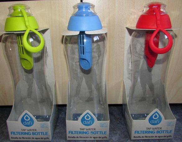 DAFI – бутилка за пречистване на вода