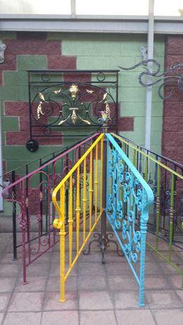 Ковка / кованые заборы, ворота, лестницы, перила, навесовы, лавочеки