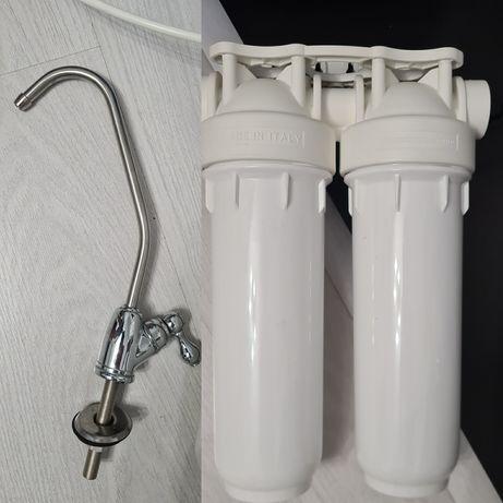 Продам двухступенчатый фильтр для очистки воды