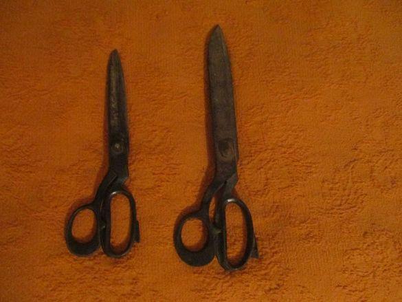 Шивашки инструменти-за кроене,шиене,гладене и рязане-стари