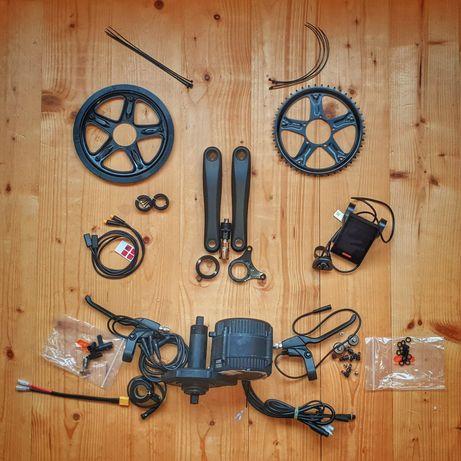 Bafang 750w / 1000w среден kit електрически велосипед, батерия отделно