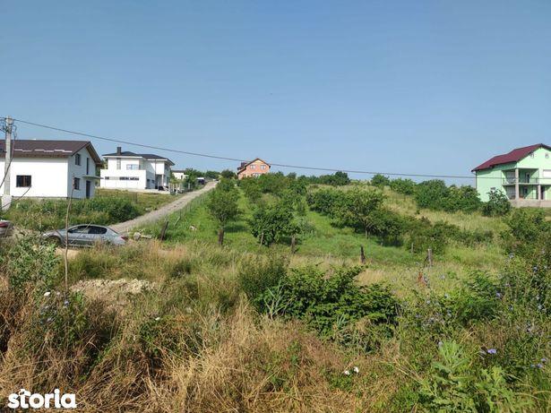 Teren constructii, zona de case noi, parau la limita terenului- Dezmir