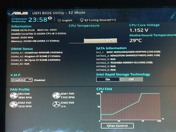 Vand Desktop complet Intel i5 6600 4200 lei fix