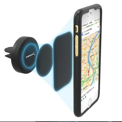 Suport Sabrent magnetic auto pentru telefon