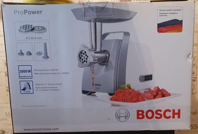 Продаётся электрическая мясорубка BOSCH 1600 WT.PRO POWER