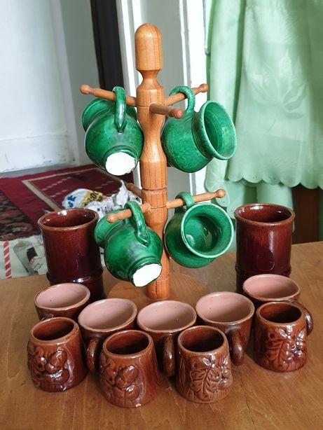 Căni de lut/ceramică