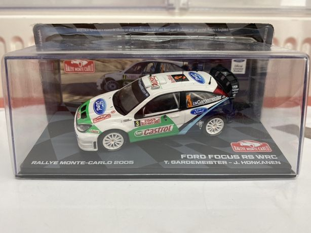 ALTAYA FORD FOCUS RS WRC machetă auto RALLY scara 1:43