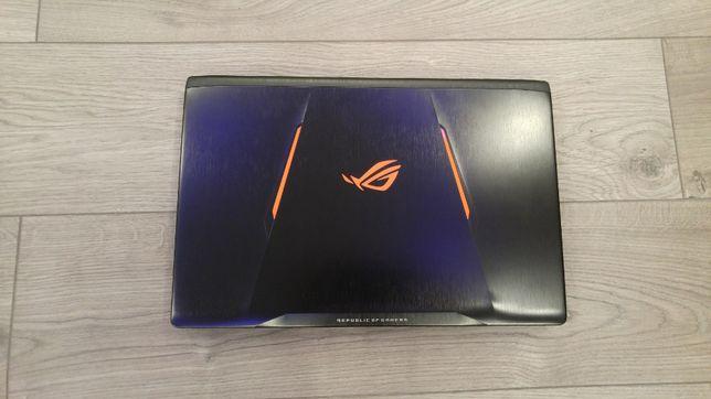 Laptop gaming ASUS ROG nou, intel core i7-7700HQ, nvidia GTX 1050TI