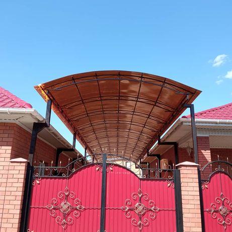Навесы Ворота Решётки Оградки Железные двери Актобе