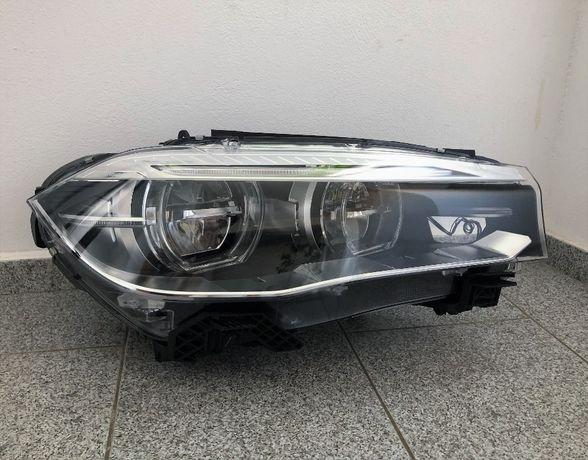 BMW X5 X6 F15 F16 far dreapta full led adaptiv lci plansa bord airbag